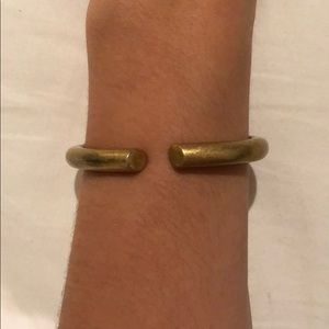 J.Crew Simple Clasp Bracelet - Gold